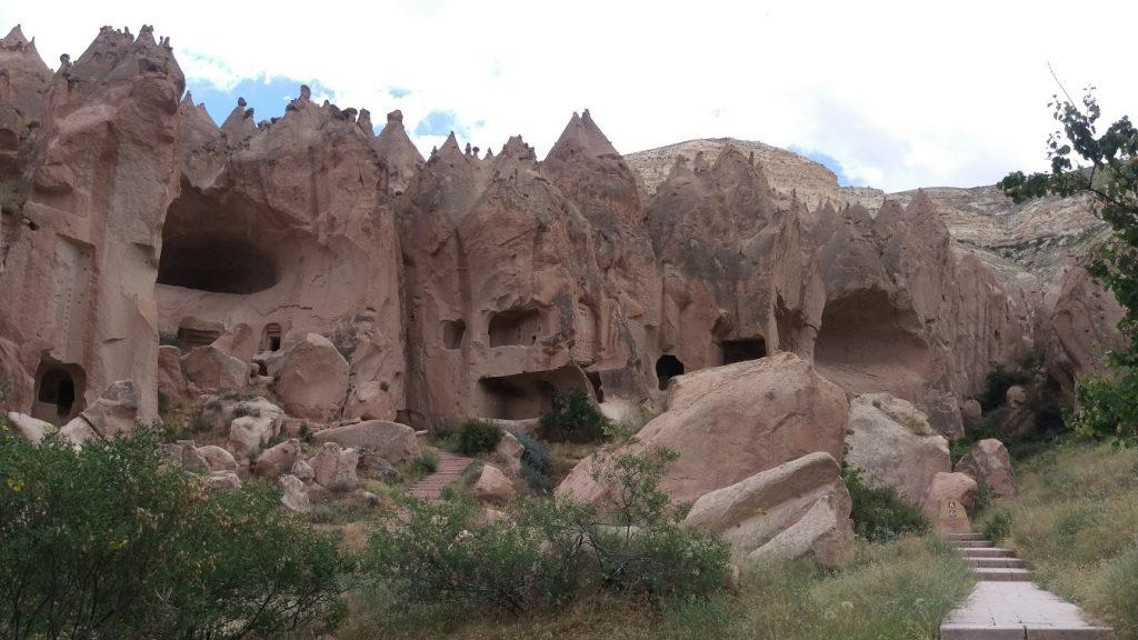 Zelve klooster Cappadocie