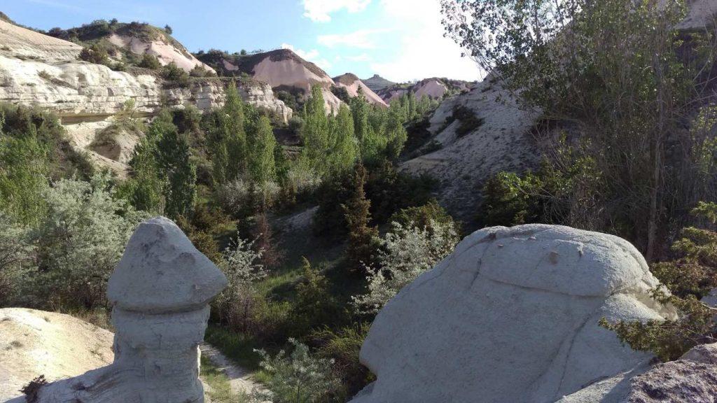 Zemi vallei Cappadocie