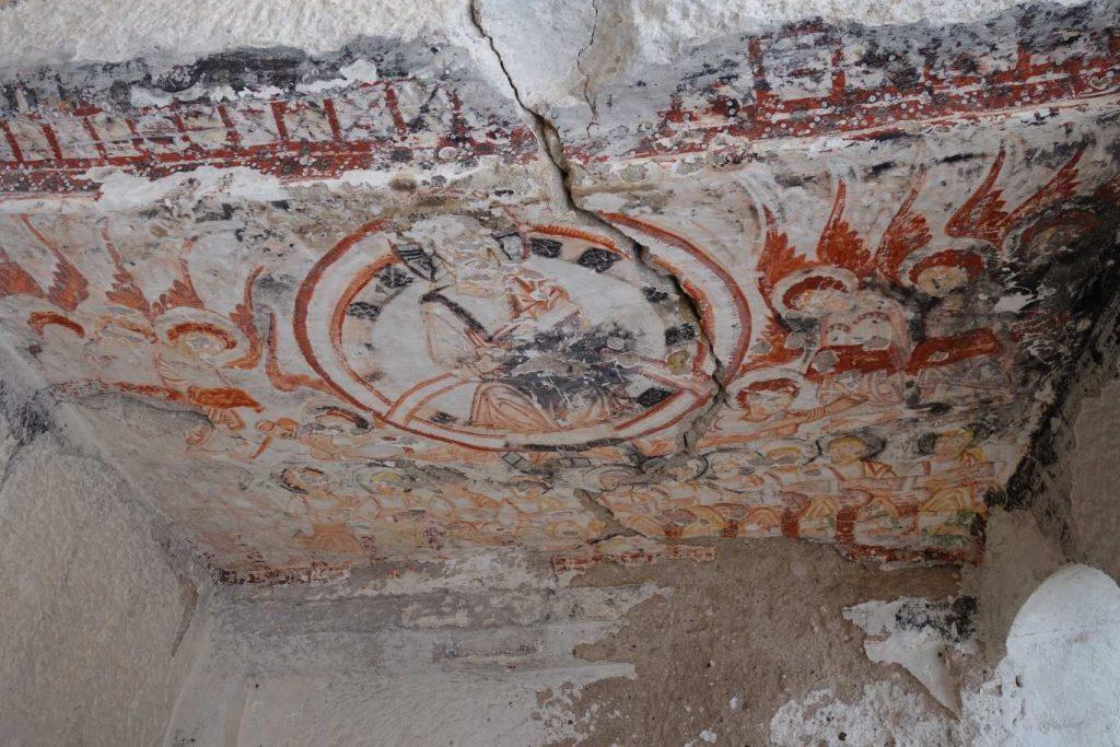 fresco St Timios kerk Gomeda vallei